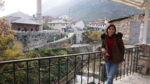 Bosna Hersek Mostar Ara Sokaklar