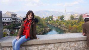 Bosna Hersek Mostar Neretva Nehri