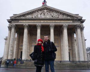 Fransa Paris Panthéon Binası