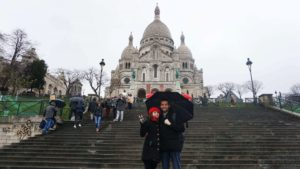 Fransa Paris Sacre Coeur Bazilikası