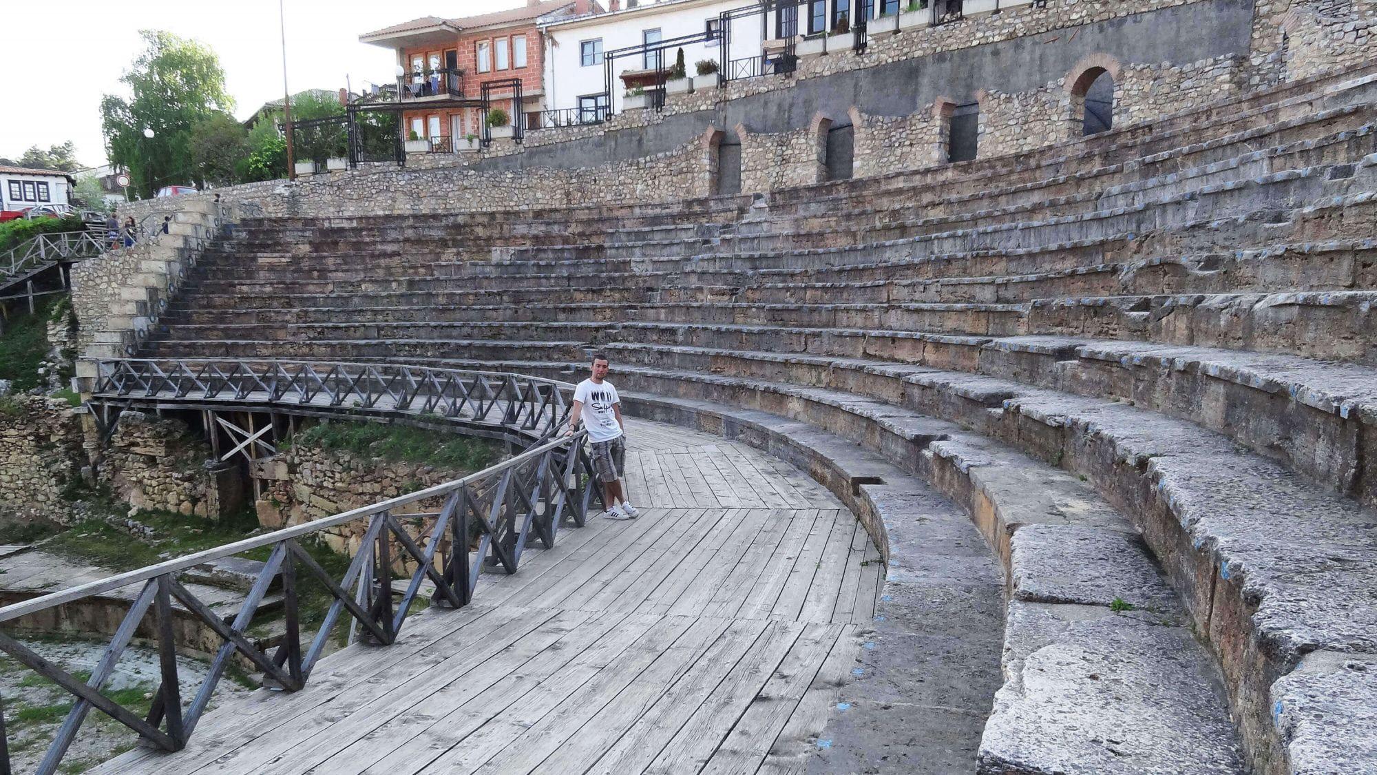 Ohri Gezi Rehberi Makedonya | Ohri Gezi Rehberi Makedonya Ohri Antik Tiyatrosu