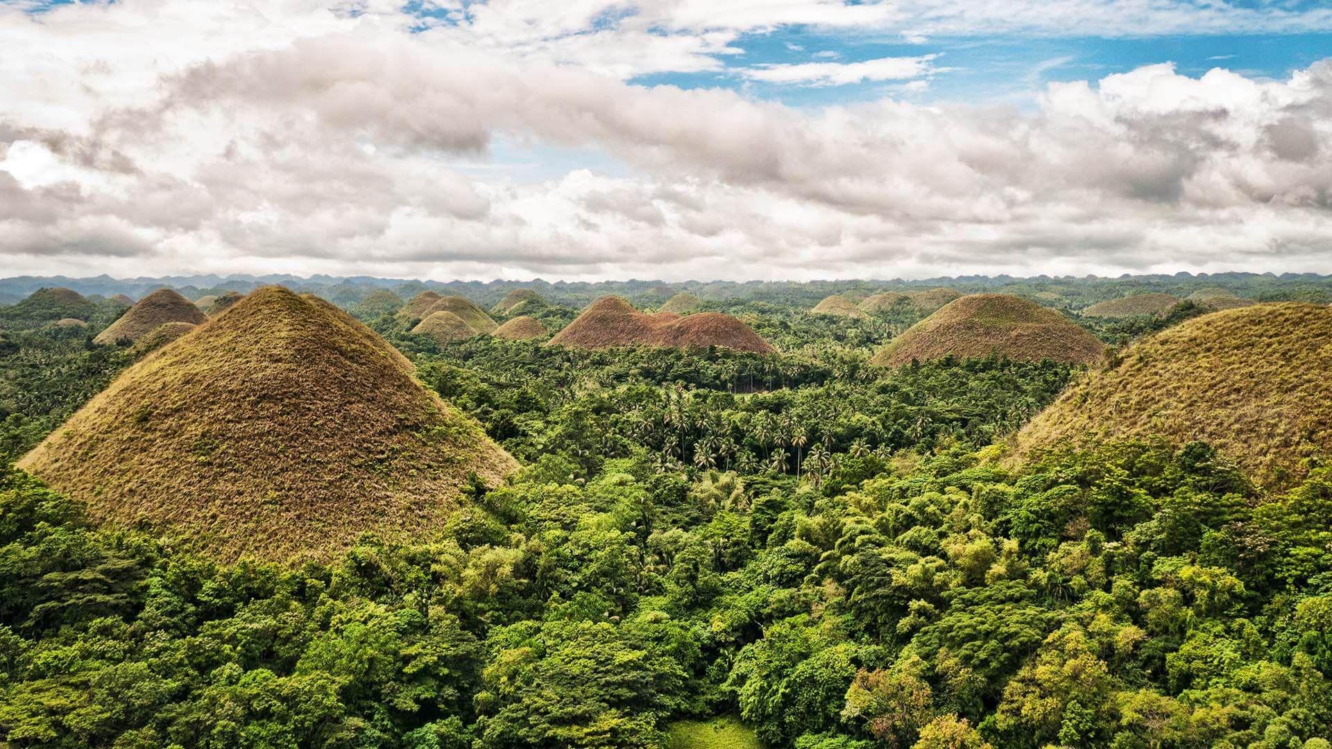 Çikolata Tepeleri, Filipinler