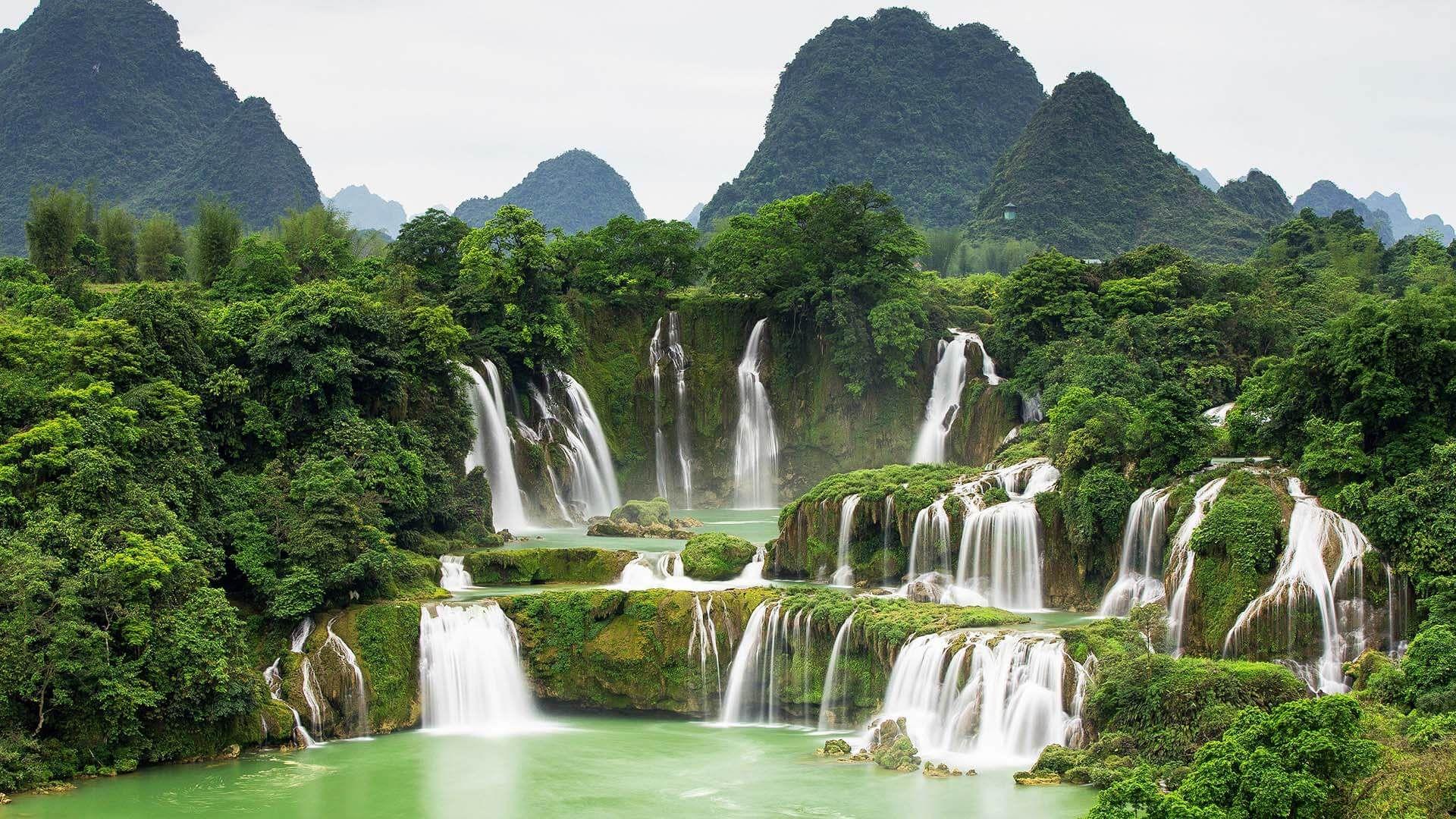 Ban Gioc–Detian Şelalesi, Vietnam Çin Sınırı