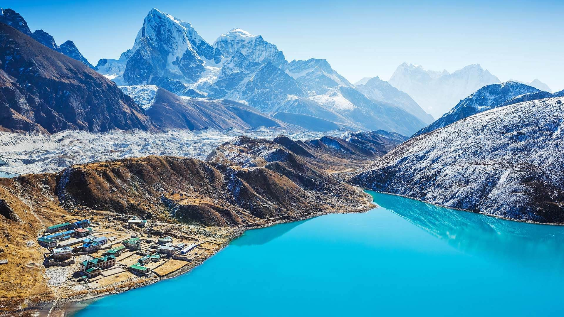 Gokyo Lakes Gölleri, Nepal