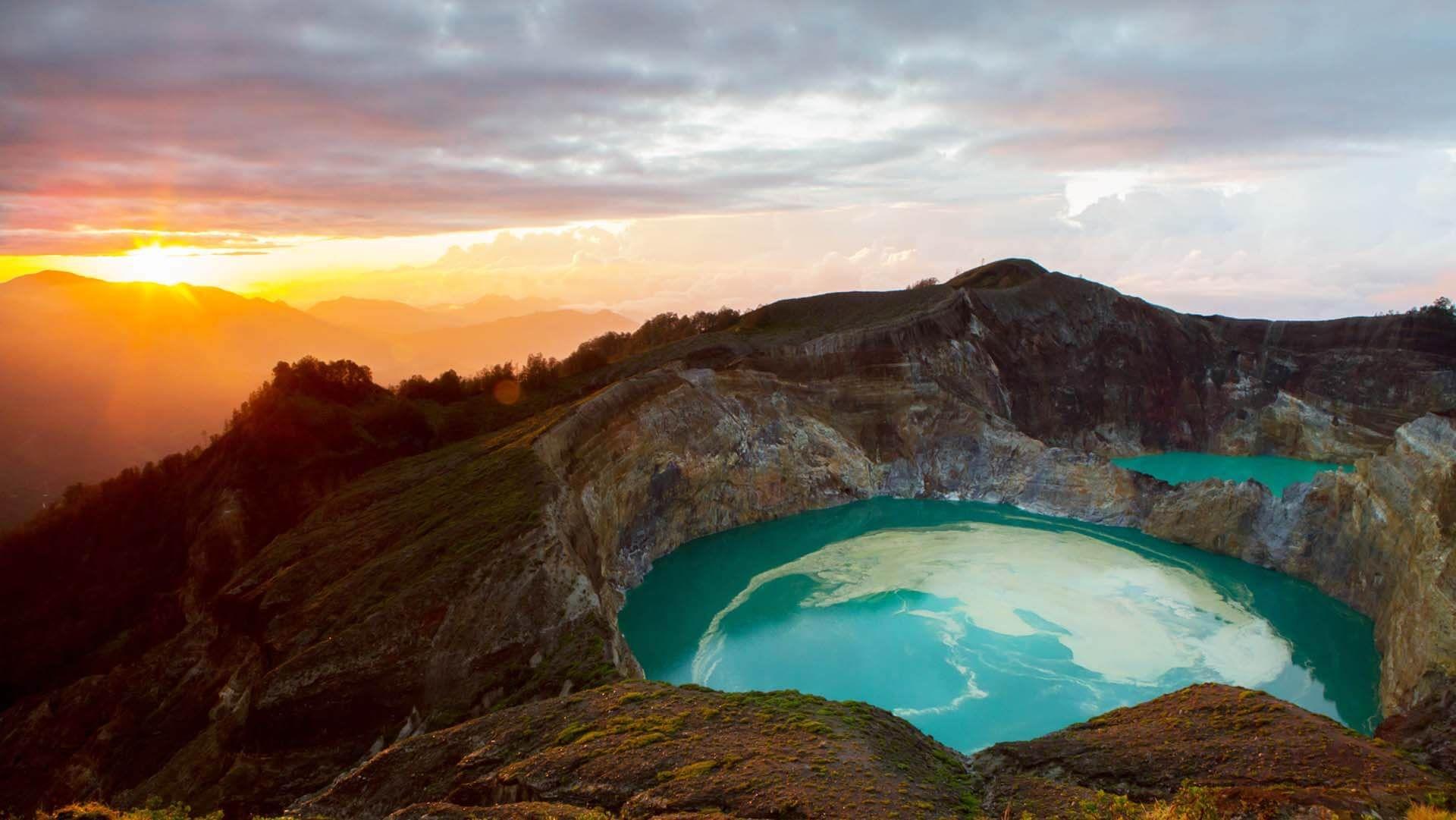 Kelimutu Dağı, Endonezya