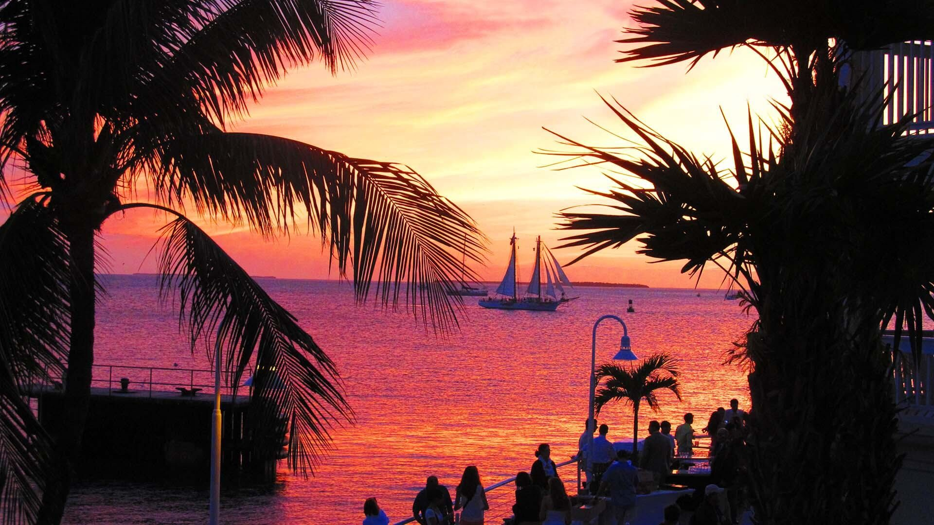 Mallory Square, Key West, Florida, ABD