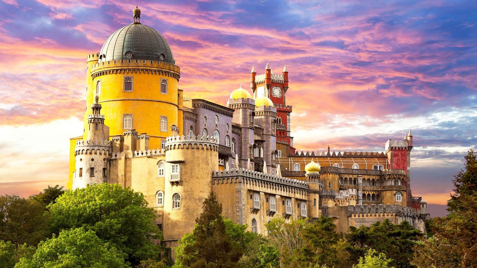 Pena Sarayı, Sintra, Portekiz