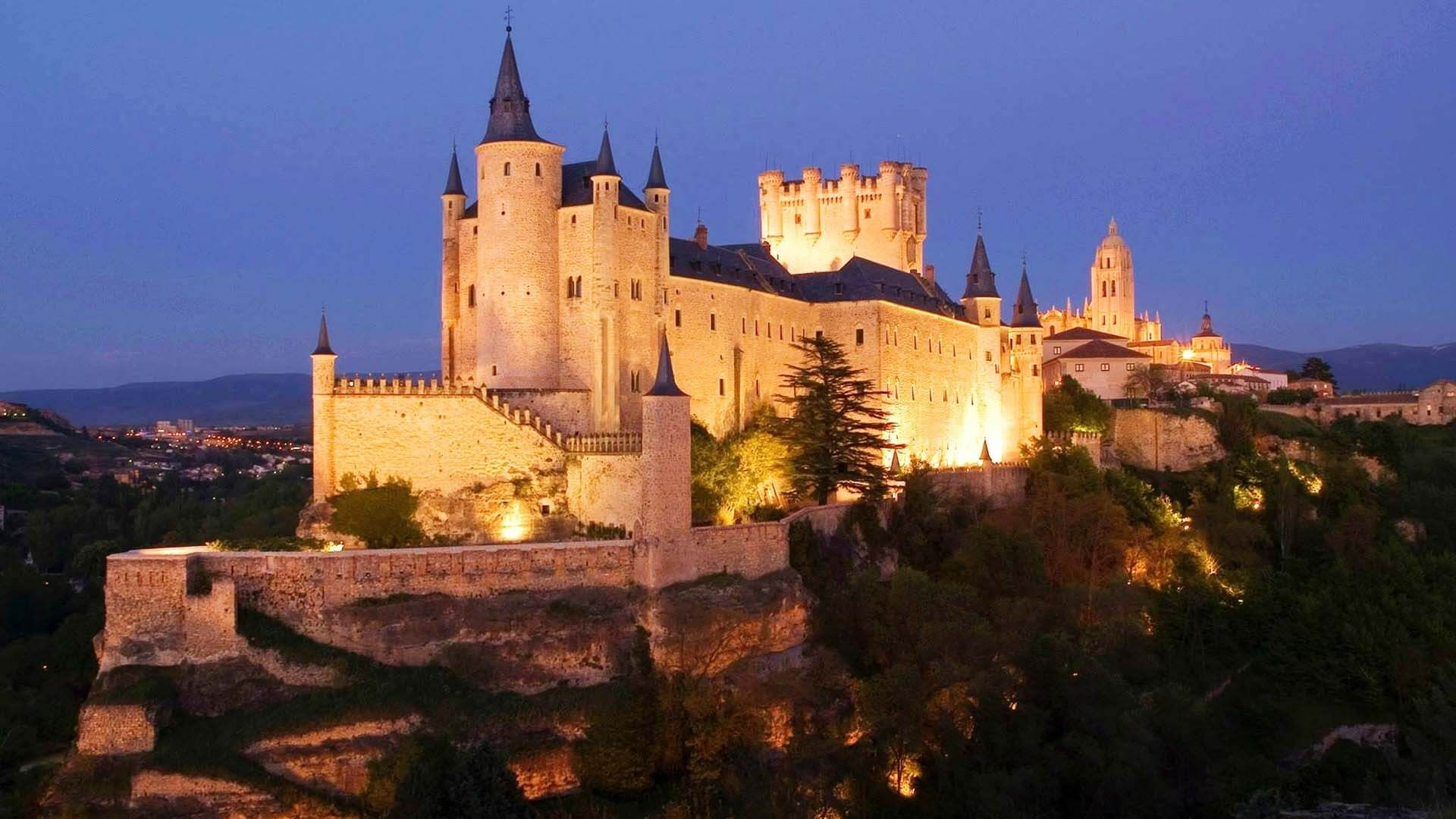 Segovia Kalesi, Segovia, İspanya