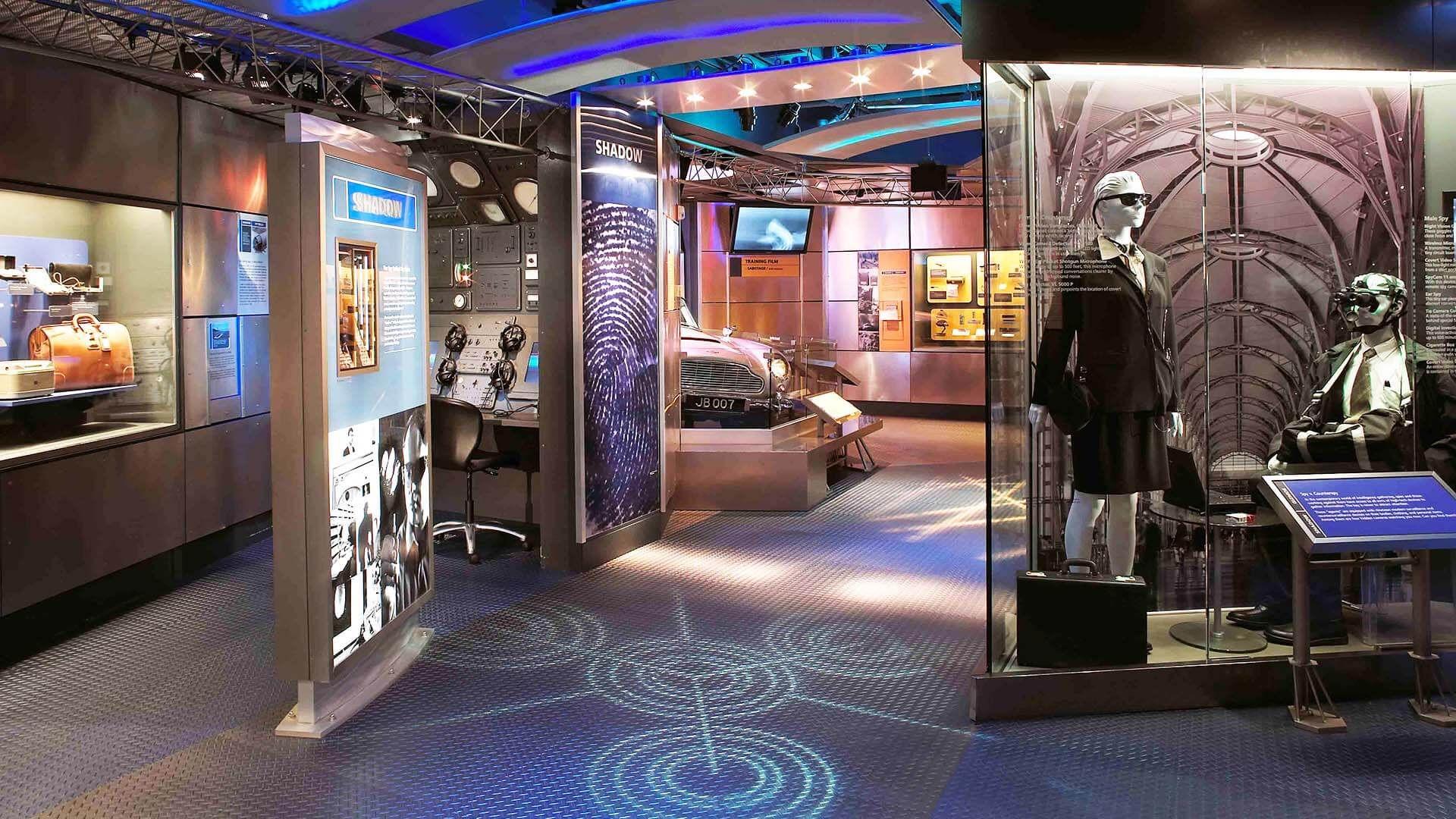 Uluslararası Casusluk Müzesi, Washington, DC, ABD