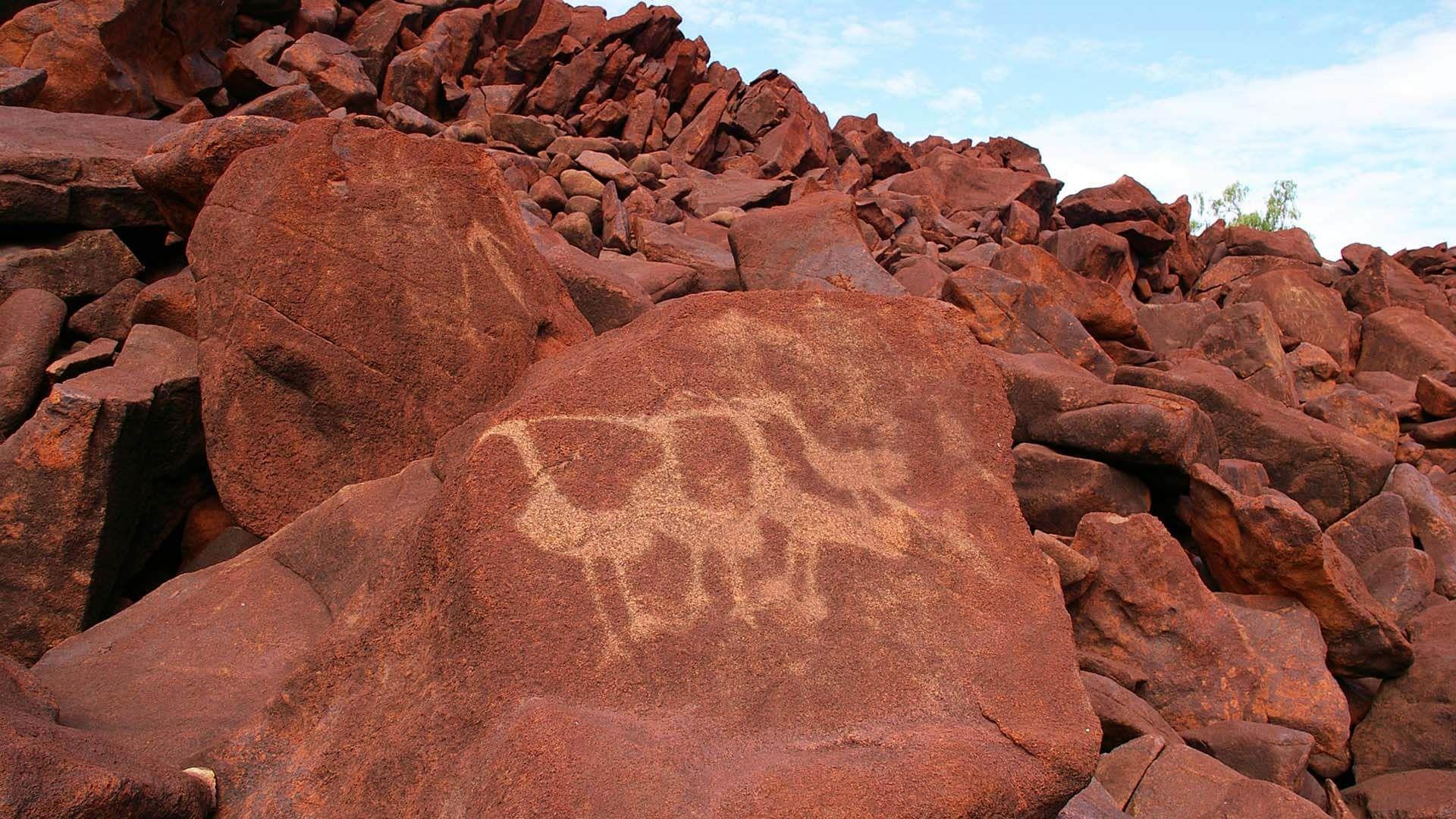 Burrup Peninsula Avustralya