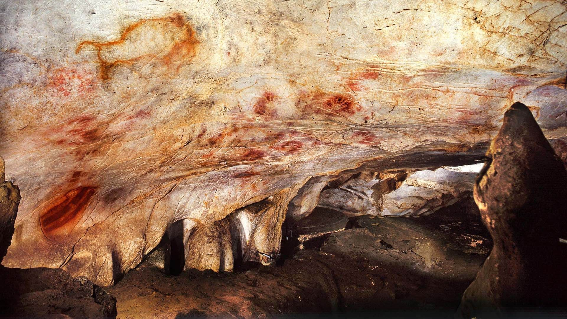 El Castillo Mağarası, İspanya
