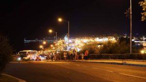 Burgas, Nesebar Gece Manzarası