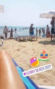 Burgas, Sunny Beach Plajı Kumsal
