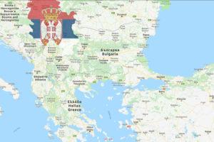 Sırbistan Nerede Harita
