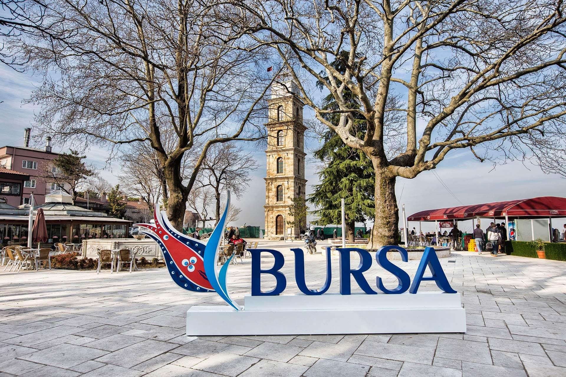 Bursa-Tophane Saat Kulesi