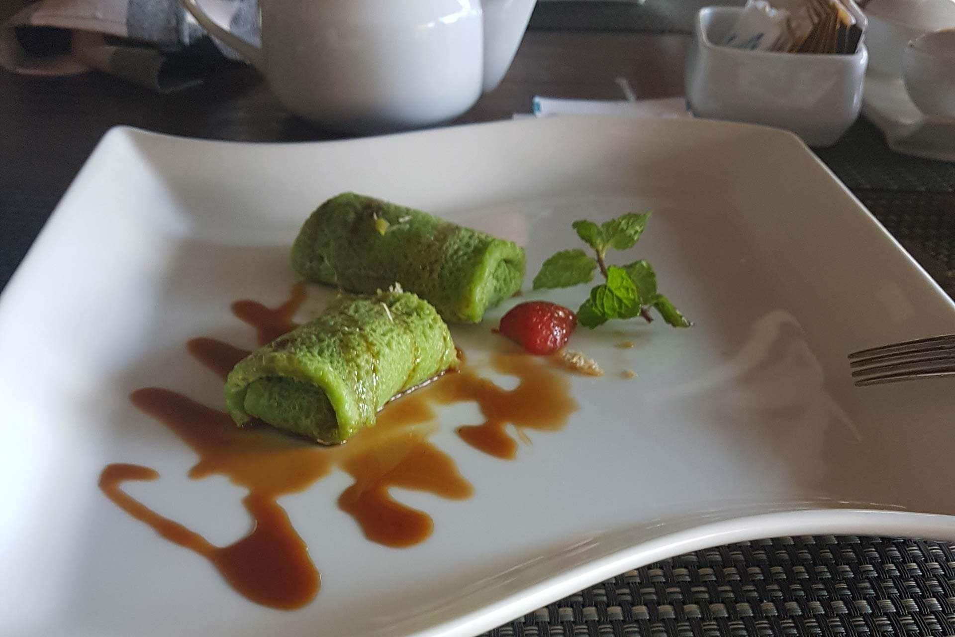Tjampuan Spa Hotel Restoranı Bali Yemekleri