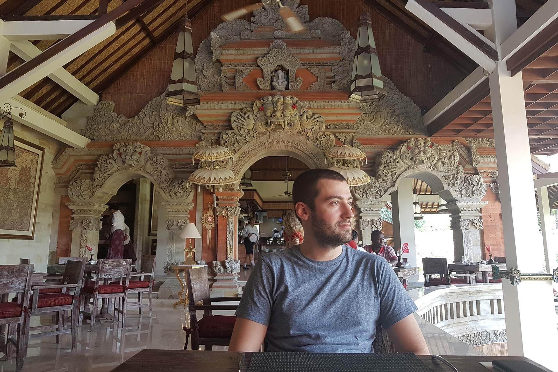 Tjampuan Spa Hotel Restoranı